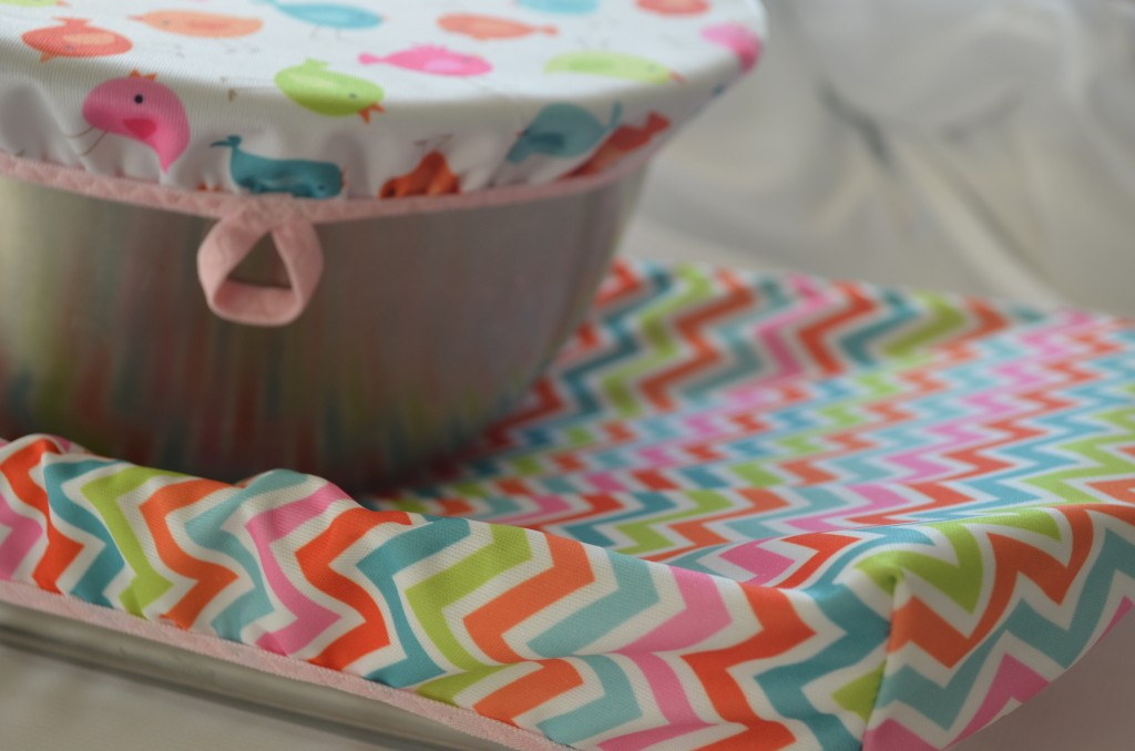 Unplastic wrappers for bowls and casserole